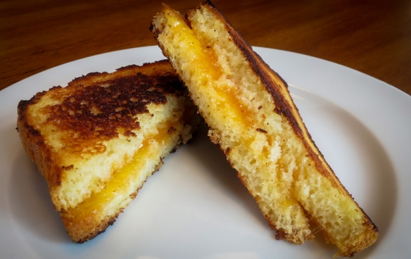 No Sugarless Gum--Grilled Cheese