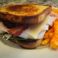 Fructose Malabsorption Easy Recipes: Club Sandwich