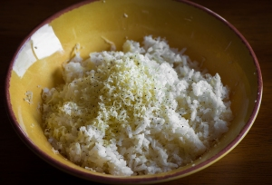 Easy Cheesy Rice__No Sugarless Gum