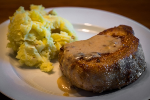 Pork Chop with Country Gravy2__No Sugarless Gum
