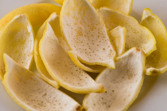 Candied Lemon Peels__No Sugarless Gum