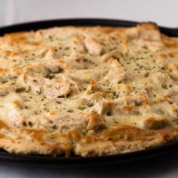 Fructose Malabsorption Recipes: Chicken Pizza with White Sauce