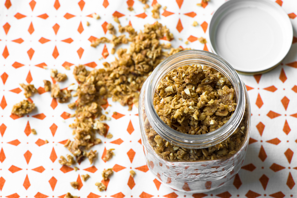 Fructose Malabsorption Recipes: Cinnamon Roll Granola