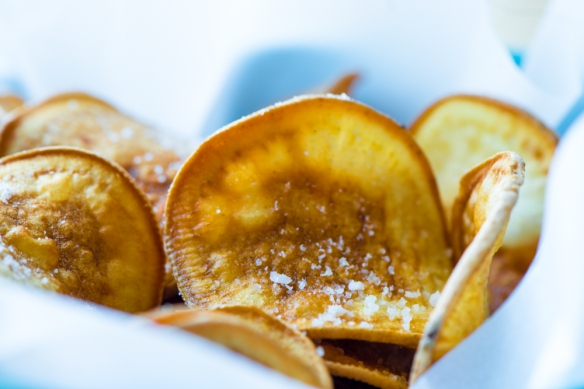 how to make sweet potato chips recipes