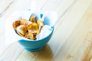 Homemade Potato Chips__No Sugarless Gum