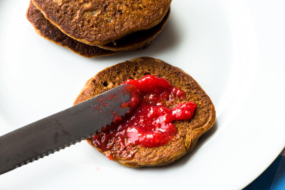 how to make strawberry jam with gelatin