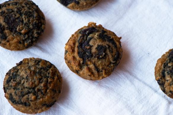 Blueberry Swirl Muffins3__No Sugarless Gum