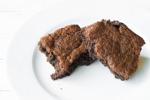 Salted Brownies5__No Sugarless Gum