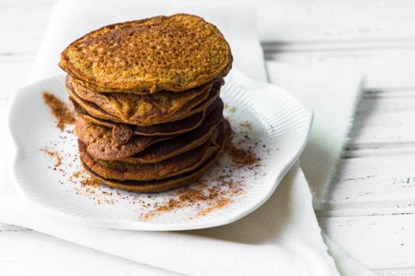 No-Flour Pumpkin Pancakes2__No Sugarless Gum